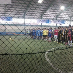 Photo taken at Grand Futsal Kuningan by Fahmi z. on 11/3/2012