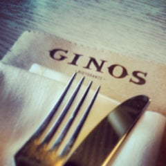 Photo taken at Ginos by Francisco T. on 2/22/2014