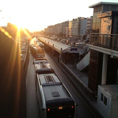 Photo taken at Avcılar Metrobüs Durağı by Osman Eken on 12/26/2012