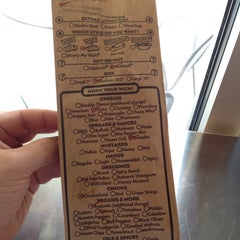 Photo taken at Which Wich? Superior Sandwiches by Daniel C. on 9/29/2014