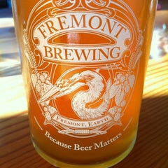 Photo taken at Fremont Brewing Company by Sammi on 2/15/2013