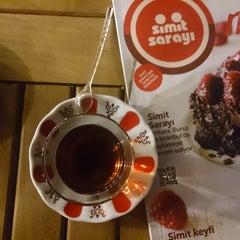 Photo taken at Simit Sarayı by Serkan S. on 9/8/2013