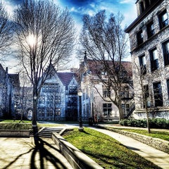 Photo taken at The University of Chicago by Oleg S. on 1/11/2013