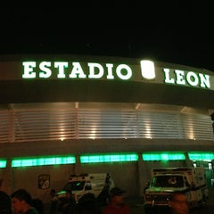 Photo taken at Estadio León by Nacho V. on 3/31/2013