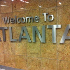 Photo taken at Hartsfield-Jackson Atlanta International Airport by Yegor on 7/14/2013