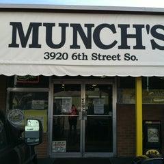 Photo taken at Munch's Restaurant by Cheryl G. on 12/28/2012