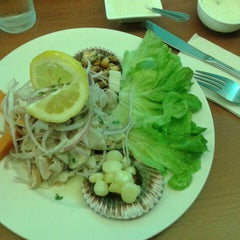 Photo taken at Restaurant De los Reyes by Pamela C. on 8/19/2015