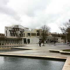 Photo taken at Scottish Parliament by Petch S. on 3/29/2015
