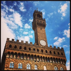 Photo taken at Piazza della Signoria by Andrea on 3/27/2013