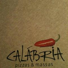 Photo taken at Calábria Pizzas & Massas by Christiane on 9/30/2012