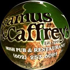 Photo taken at Seamus McCaffrey's Irish Pub & Restaurant by Carlos on 1/18/2013