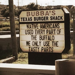 Photo taken at Bubba's Texas Burger Shack by Adrian on 9/20/2014