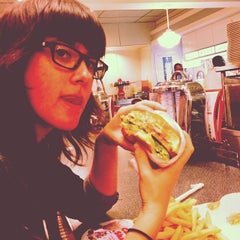 Photo taken at Johnny Rockets by David P. on 1/8/2014