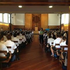 Photo taken at Mt Albert Grammar School by Jonathan G. on 2/15/2013