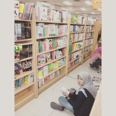 Photo taken at Gramedia by Jidat Y. on 7/26/2015