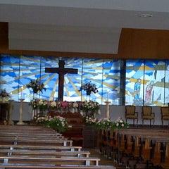 Photo taken at Gereja Santo Alfonsus Rodriguez by Purnamasari on 2/2/2013