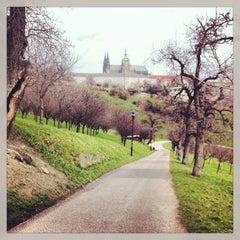 Photo taken at Petřínské zahrady | Petřín Gardens by Dobroš on 4/14/2013