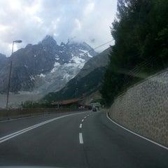 Das Foto wurde bei Traforo Monte Bianco [T1] - Piazzale Sud von Marco am 6/27/2014 aufgenommen
