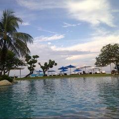 Photo taken at Grand Aston Bali Beach Resort by Kertowijoyo on 5/13/2013