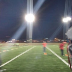 Photo taken at Patterson Park Kickball by Megan J. on 3/21/2014