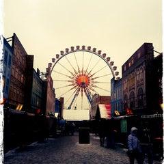 Photo taken at Weihnachtsmarkt am Roten Rathaus by Ton T. on 12/23/2012