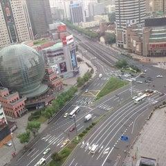 Photo taken at 汇金百货 by Rebecca G. on 8/25/2012