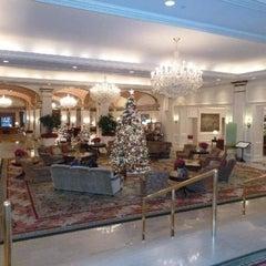 Photo taken at Omni Shoreham Hotel by Omran A. on 11/24/2012