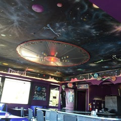 Photo taken at Red Planet Diner by Meg P. on 6/29/2014