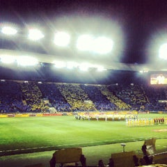 Photo taken at ОСК «Металіст» / Metalist Stadium by Artem K. on 10/4/2012