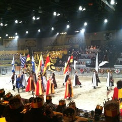 Photo taken at Medieval Times by Nichol F. on 2/23/2013