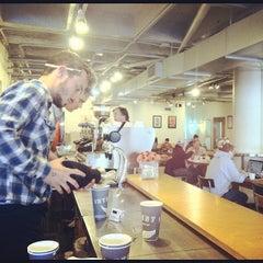 Photo taken at Intelligentsia Coffee by Bill P. on 9/23/2012