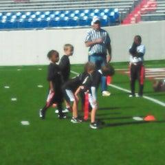 Photo taken at War Memorial Stadium / AT&T Field by Patrice M. on 10/20/2012
