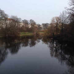 Photo taken at Ørstedsparken by Kasper H. on 3/4/2014