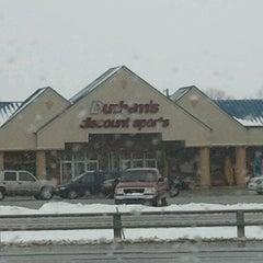 Photo taken at Dunhams by Terri A. on 12/31/2012