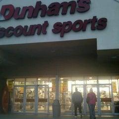 Photo taken at Dunhams by Terri A. on 11/6/2012