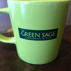Photo taken at The Green Sage Coffeehouse & Cafe by Daniel G. on 1/6/2013