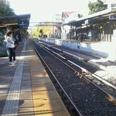 Photo taken at Estación La Lucila [Línea Mitre] by Ariel on 4/22/2013