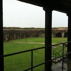 Photo taken at Fort Morgan State Historic Site by Meghan F. on 7/5/2013