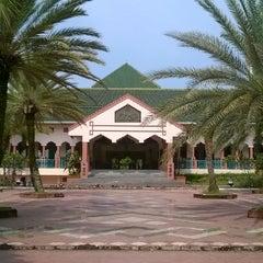 Photo taken at Masjid Al-Istiqna by Fachrizal V. on 5/24/2014