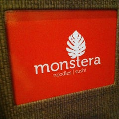 Photo taken at Monstera Sushi & Noodles by Chick E. on 11/13/2015