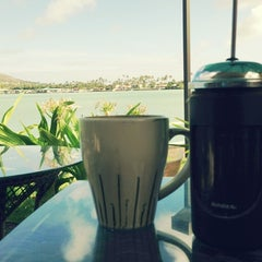 Photo taken at Island Brew Coffeehouse by Allen C. on 6/3/2013