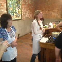 Photo taken at The New Orleans School of Cooking by Lisa on 12/8/2012