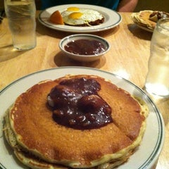 Photo taken at Magnolia Pancake Haus by Jon P. on 10/14/2012