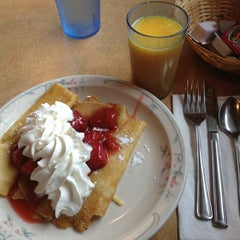 Photo taken at Family Pancake House by Eline on 2/3/2013