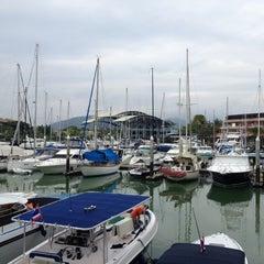 Photo taken at Royal Phuket Marina by ⚡Ksenia⚡ on 1/3/2013
