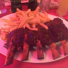 Photo taken at BarBQ by Fede P. on 3/18/2015