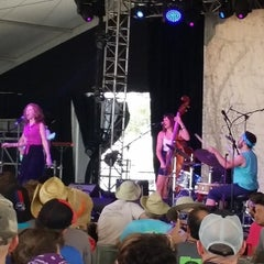Photo taken at That Tent at Bonnaroo Music & Arts Festival by Bob F. on 6/15/2014