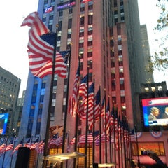 Photo taken at Rockefeller Center by JA J. on 11/6/2012