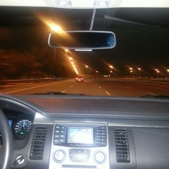 Photo taken at Abu Dhabi - Dubai Road by Evrim on 2/22/2013