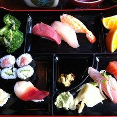 Photo taken at Sushi Tomi by Chongho L. on 5/26/2013